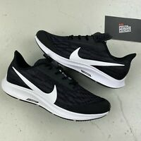 NIKE ZOOM PEGASUS 36 FLYEASE UK 7.5 EU 42 US 10 BLACK WHITE BV0614 001