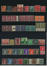 Germany, Deutsches Reich, Nazi, liquidation collection, stamps, Lot,used (EK 10)