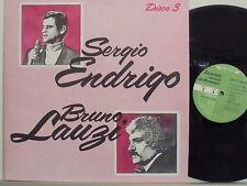 SERGIO ENDRIGO BRUNO LAUZI disco LP 33 LE PIU' BELLE CANZONI DEI CANTAUTORI v.3