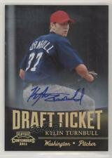 2011 Playoff Contenders Draft Tickets Signatures Kylin Turnbull #DT28 Auto