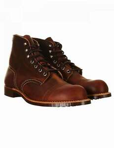 """Red Wing 8085 Heritage 6"""" Iron Ranger Boot - Copper Rough & Tough"""