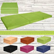 Colchón plegable de invitado cama XXL 2 personas Fortisline verde claro