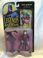 *Collectible Vtg. 1994 Legends of Batman, The Joker with Snapping Jaw Figure NOC