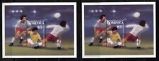 SOCCER  WORLD CUP ON DOMINICA 1986 Scott 939 and 978 (WINNERS), MNH