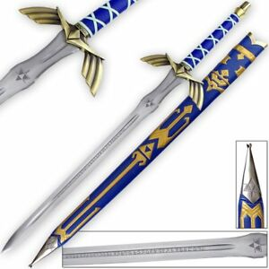 """50"""" Carbon Steel Breath of the Wind Link's Master Sword Replica Full Tang Legend"""