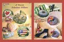 "Crochet pillow pattern ""A Dozen Fabulous Pillows"" Annie Potter"