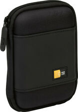 "Case Logic Portable External 2.5"" Hard Drive Storage Carry Case Black PHDC1"