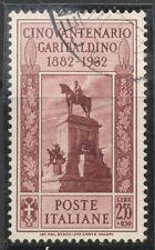 REGNO - NR. 323 - GIUSEPPE GARIBALDI - USATO - PERFETTO