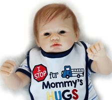 22'' Realistic Reborn Boy Baby Lifelike Soft Silicone Simulation Doll/SDK-75R3