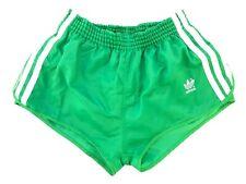 Adidas vintage Sprinter Shorts Gr. 5 S Sporthose oldschool 80s grün 80er FS2