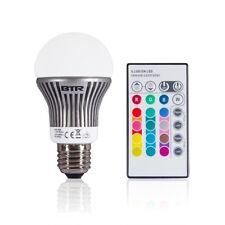LED Leuchtmittel E27 RGB mit Farbwechsel Energiesparlampe mit Fernbedinung