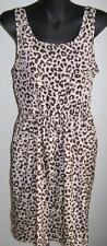 Polyester Animal Print Casual Sundresses for Women