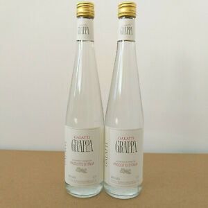 Grappa Galatti Aquavite Di Vinaccia 38 % Alkohol Italien 2 x 0,7 Liter