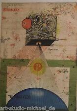 "Uwe Bremer: ""Proxima Centauri"", grafica, acquaforte, 8/100, firmato, 1971"