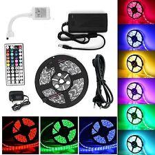 1m-30m LED RGB 5050 3528 SMD Strip Streife Band Leiste Controller Trafo Netzteil