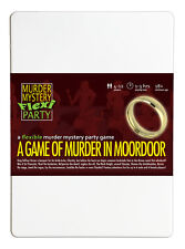 A Game of Murder in Moordoor - Murder Mystery Flexi Dinner Party for 4-12 Player