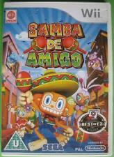 ★☆☆ Wii game - Samba de Amigo ☆☆★