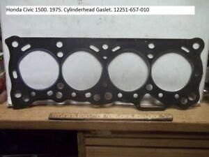 Honda Civic 1500. 1975. New orginal Cylinderhead gasket. 12251-657-010