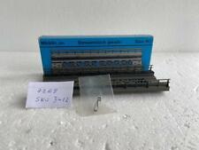 Märklin Ho_7268 x 4, Straight Bridge Ramp 180mm K+M Used Iob