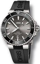 Oris Aquis Titanium Date Mens Diving Watch 01 733 7730 7153-07 4 24 64TEB