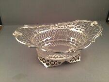 Solid Silver Victorian  Pierced & Fretwork Bowl, Goldsmith & Silversmiths, Lond
