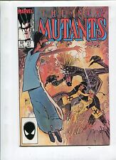 THE NEW MUTANTS #27 - INTO THE ABYSS! - (9.2) 1985