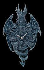 Horloge murale dragon avec Propagation de la balançoire - Déco Figurine gothique