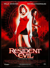 RESIDENT EVIL * CineMasterpieces FRENCH ZOMBIE MILLA JOVOVICH MOVIE POSTER 2002