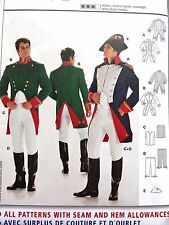 BURDA Pattern 2471 Men's Costume NAPOLEON Historical Military Uniform Size 36-48