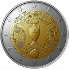 2 EURO FRANCE 2016 UNC COUPE D'EUROPE 2016