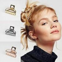 Hot Women Metal Hair Hairband Modern Stylish Hair Claw Clips Fashion Accessories