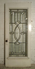 Single Victorian American Cut Glass Door (1860)Ns