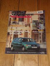 REVUE TECHNIQUE AUTOMOBILE 579-12-1995-VW POLO depuis 1995-ford escort diesel
