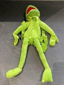 Kermit The Frog BackPack Rucksack Bag Disney 2012 Muppets