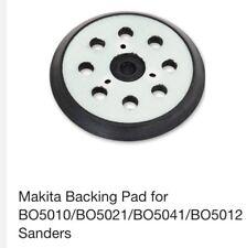 """Fits Makita 125mm 5"""" Orbital Sander Backing Pad Velcro Base BO5041 BO5031 BO5030"""