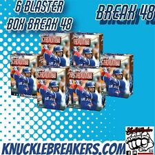 CHICAGO CUBS  STADIUM CLUB BASEBALL 6  BOX BREAK 48