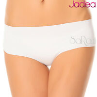 3 Slip Jadea Algodón Corte Láser Art. 8003 Panty Negro Blanco Nudo T. 2 3 4