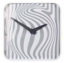SIGEL Design Wall Clock Opta Artetempus WU120 White and Grey Swirled Pattern