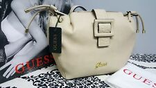 GUESS Ladies beige ANICIA drawstring large Satchel  Body/hand Bag HWANI2P1791