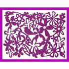 Set of 6 New Purple Flower Bird Rectangular Felt Placemats Tablemats Gift FAST