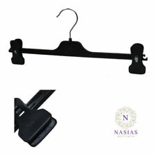 Unbranded Adult Coat Hangers with Adjustable Clips