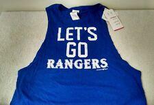 Texas Rangers - Let's Go Rangers Sleeveless shirt. Size X-Large