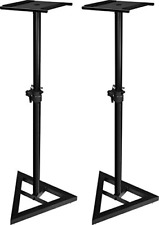Ultimate Support Systems JSMS70 JamStands Adjustable Monitor Stand PAIR, Black