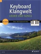 Keyboard, E-Orgel Noten - LIEDER UND SONGS - über 160 Keyboard-Hits - leicht