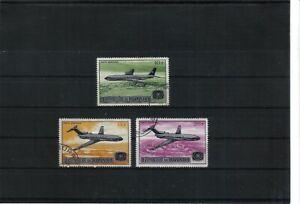 Burundi  1967 Air Mail 3  Values Used CTO Hinged  scan 906