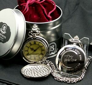TYSON FURY Signed Pocket Watch GYPSY KING Gifts autographed Boxing Memorabilia