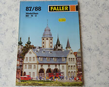 Faller -- Modellbau Jahres Katalog 1987/88