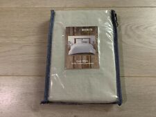 Brooklyn Loom Euro Pillow Sham 100% Cotton Chambray 26x26 (66cm x 66cm)