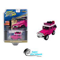 Johnny Lightning 1980 Toyota Land Cruiser (Pink)Off Road Mijo Exclusives 1:64