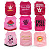 Cute Girl Dog Clothes Dog T shirt Pet Puppy Vest for Teacup Chihuahua yorkie Dog